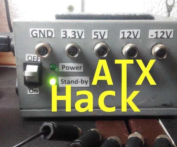 ATX Bench Power Supply Hack