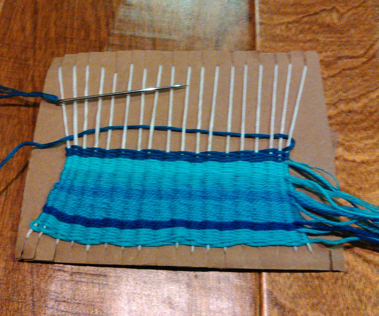 Mini Weaving Loom