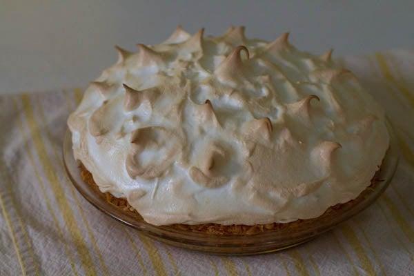 Lemon Meringue Pie With Coconut Crust (Gluten Free!)