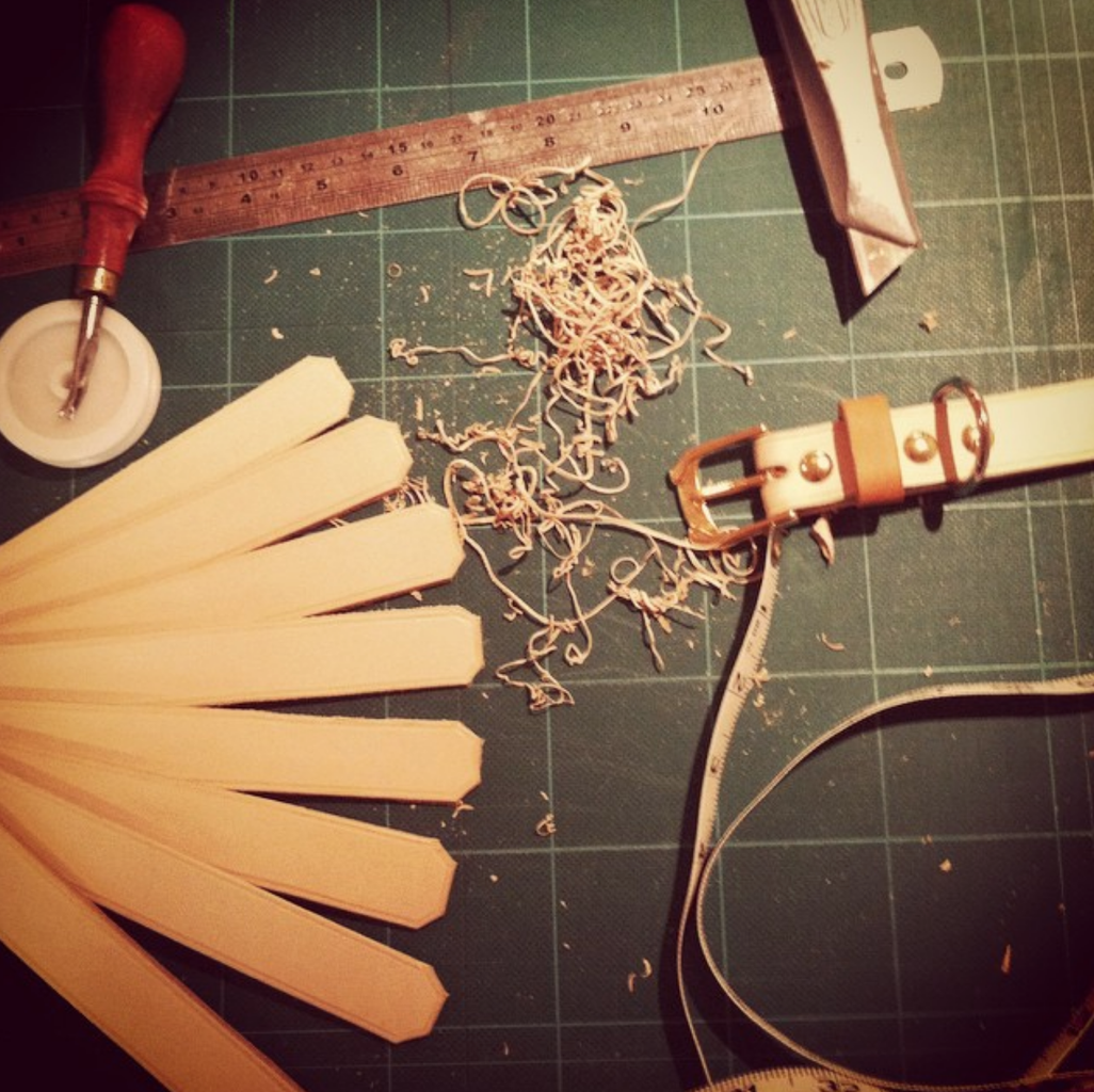 Cut and Prepare Leather