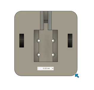 Design Process - Moving Fixture - Fillets