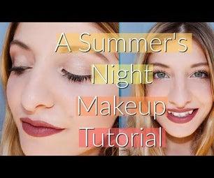 A Summer's Night Makeup Tutorial