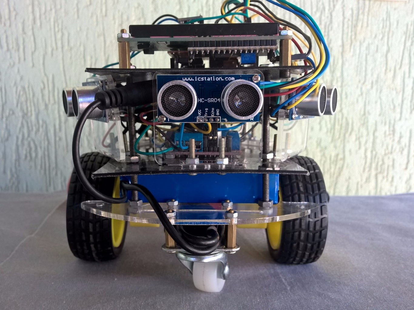 MOUNTING THE ROBOT