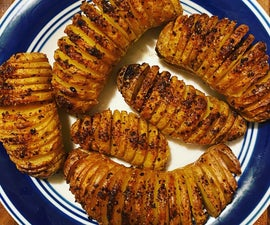 Caterpillar (Hasselback) Potatoes