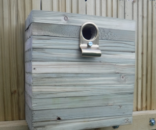 Offcut Stack Birdhouse