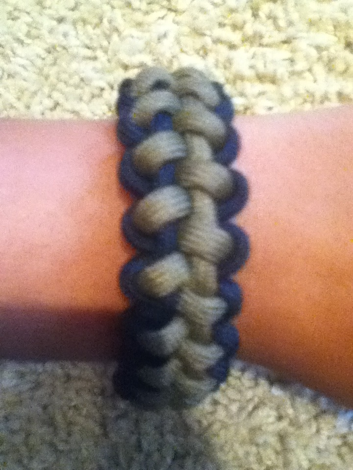 How To Make Paracord Stitched Solomon Bar With Buckles