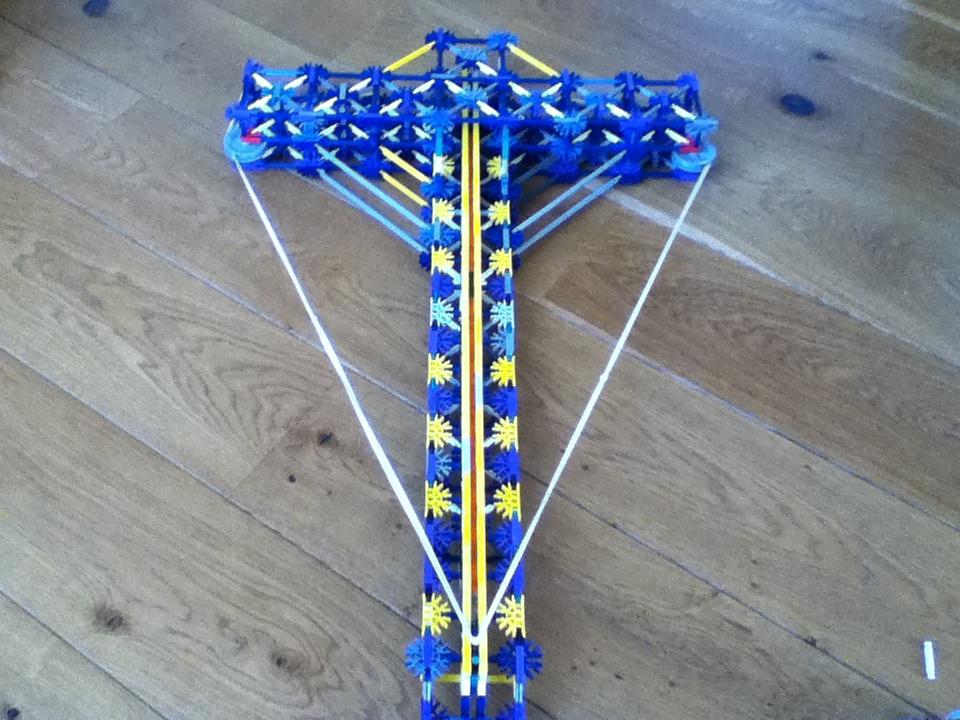 knex powerfull crossbow range: + 200ft