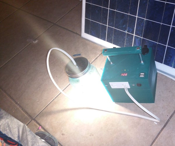Solar Camping Generator