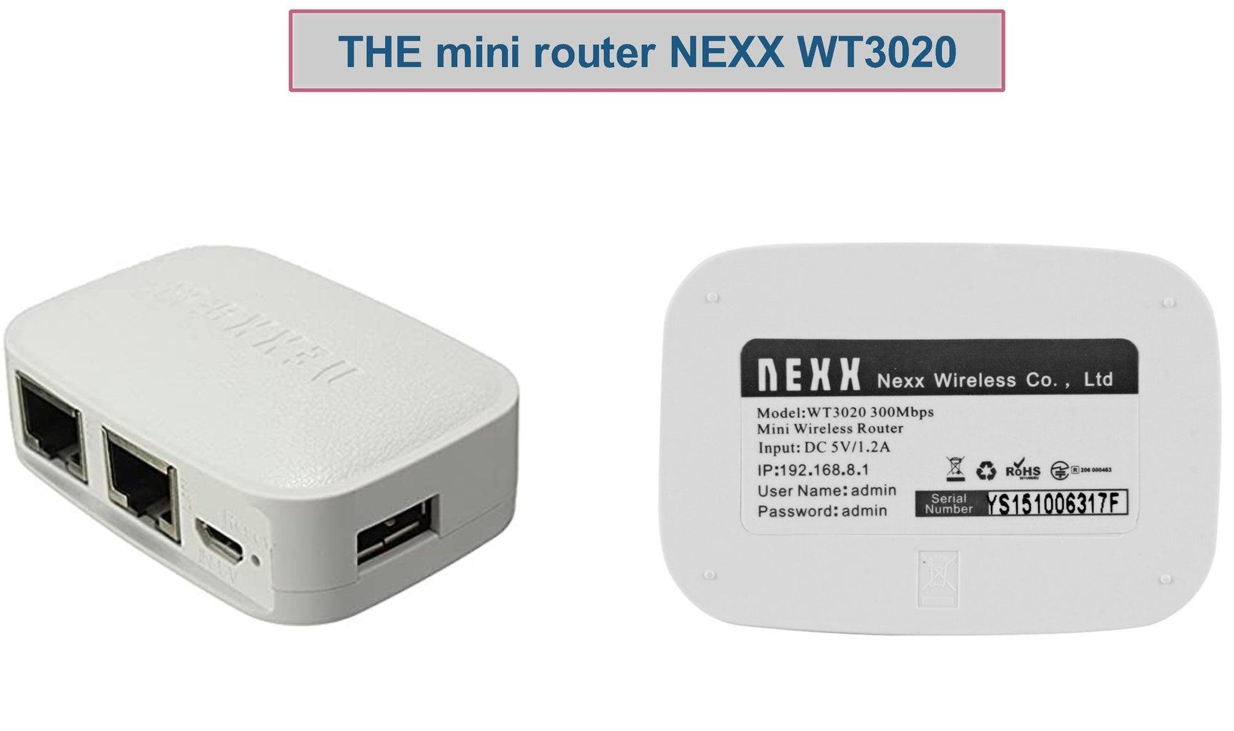 NEXX Wifi Router As 2 Ways Router