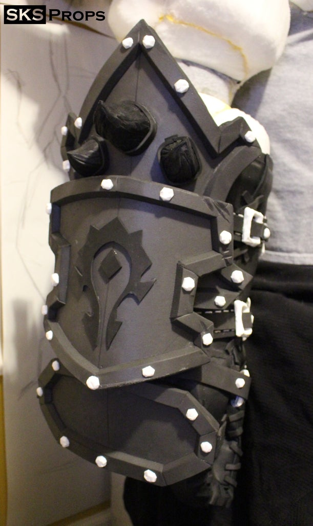 Glove Armor and Shoulder Pads
