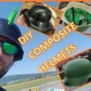 Composite Military Helmet Replica