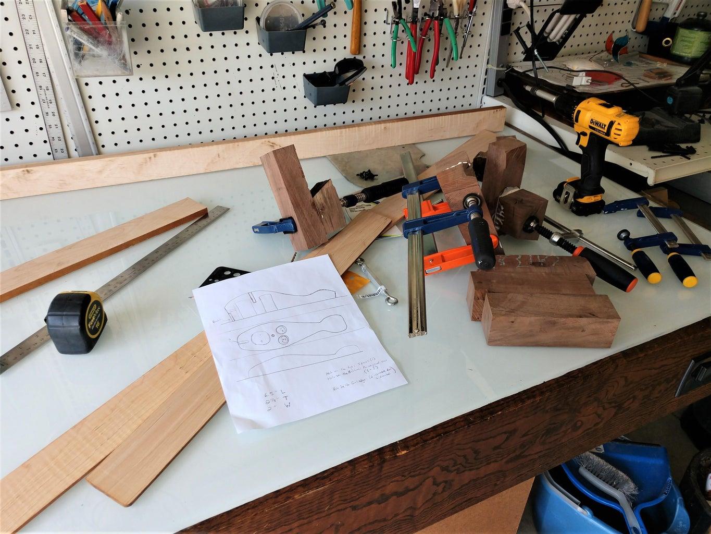 Prepare Wood Blanks