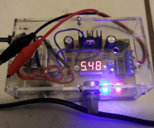 Variable Voltage Power Supply <$15