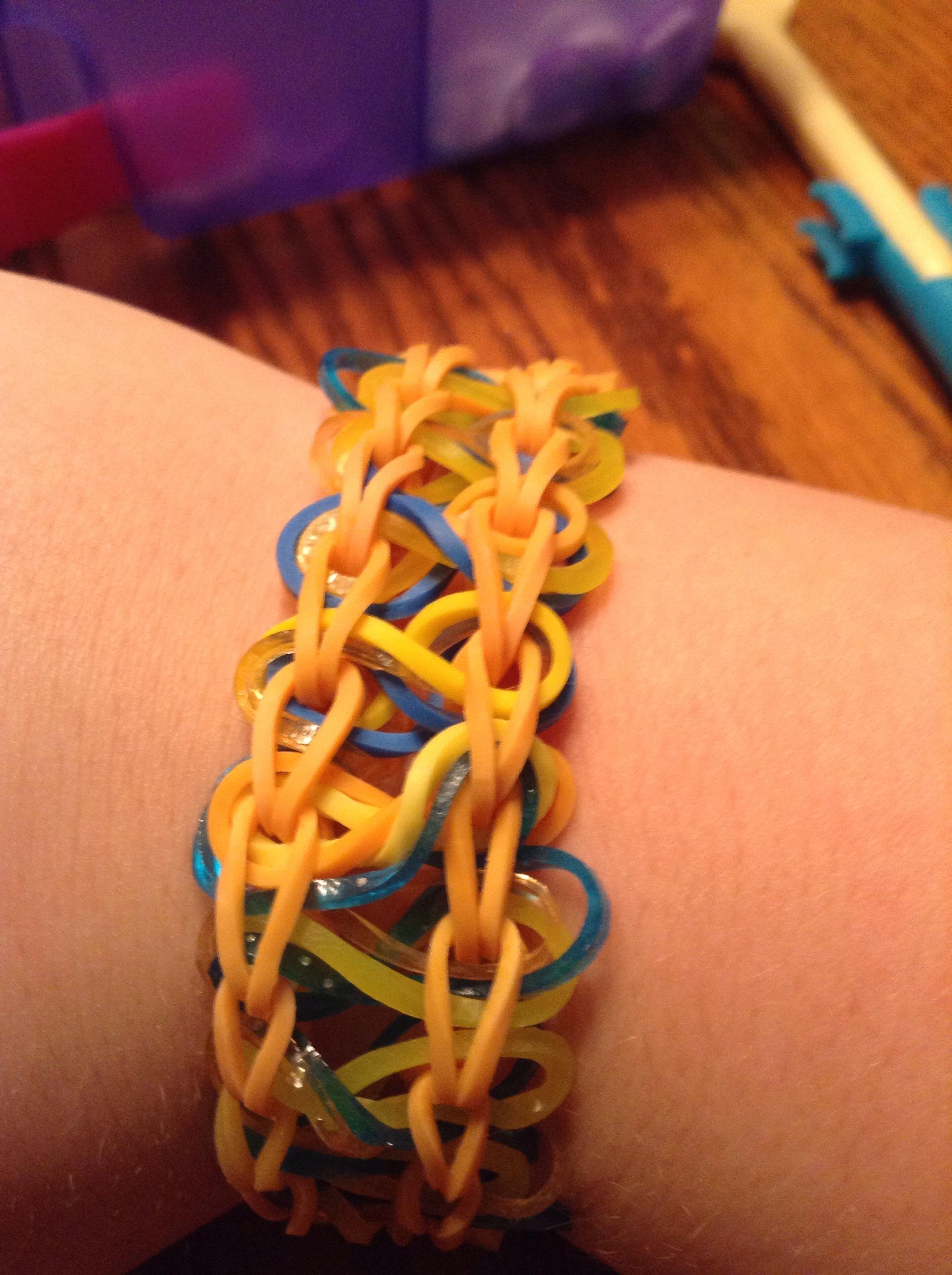 Taffy Twist Rainbow Loom Braclet