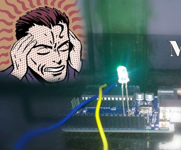 Mind Controlled Light Using Arduino || Poor Man's EEG Sensor