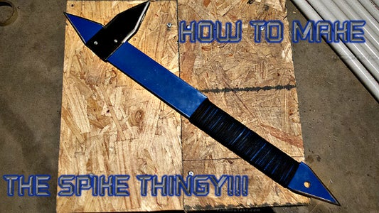 HOW TO MAKE ''THE SPIKE THINGY''!!!