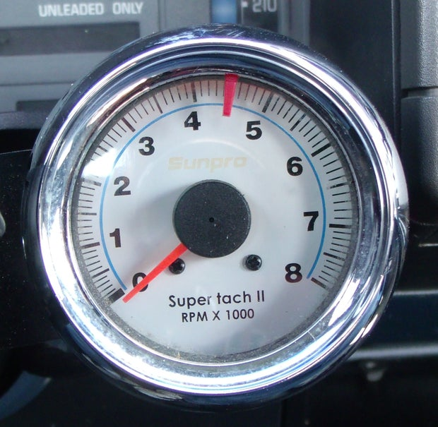 How To Install A Tachometer 8 Steps, Tachometer Wiring Diagrams