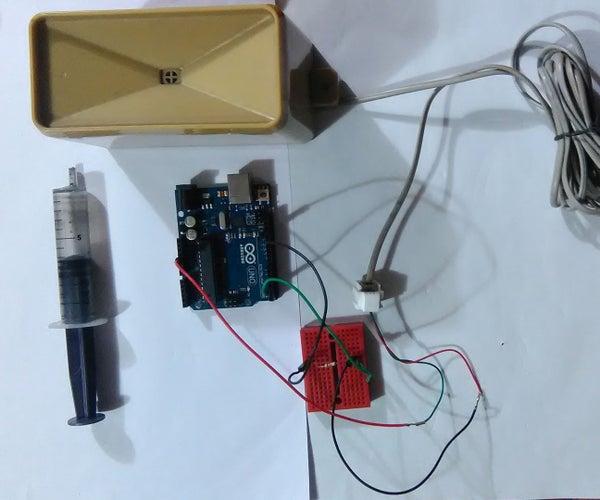 Arduino Rain Gauge Calibration