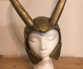 DIY Loki Helmet- Avengers
