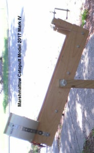 Marshmallow Catapult 2017: Pushing the Envelope