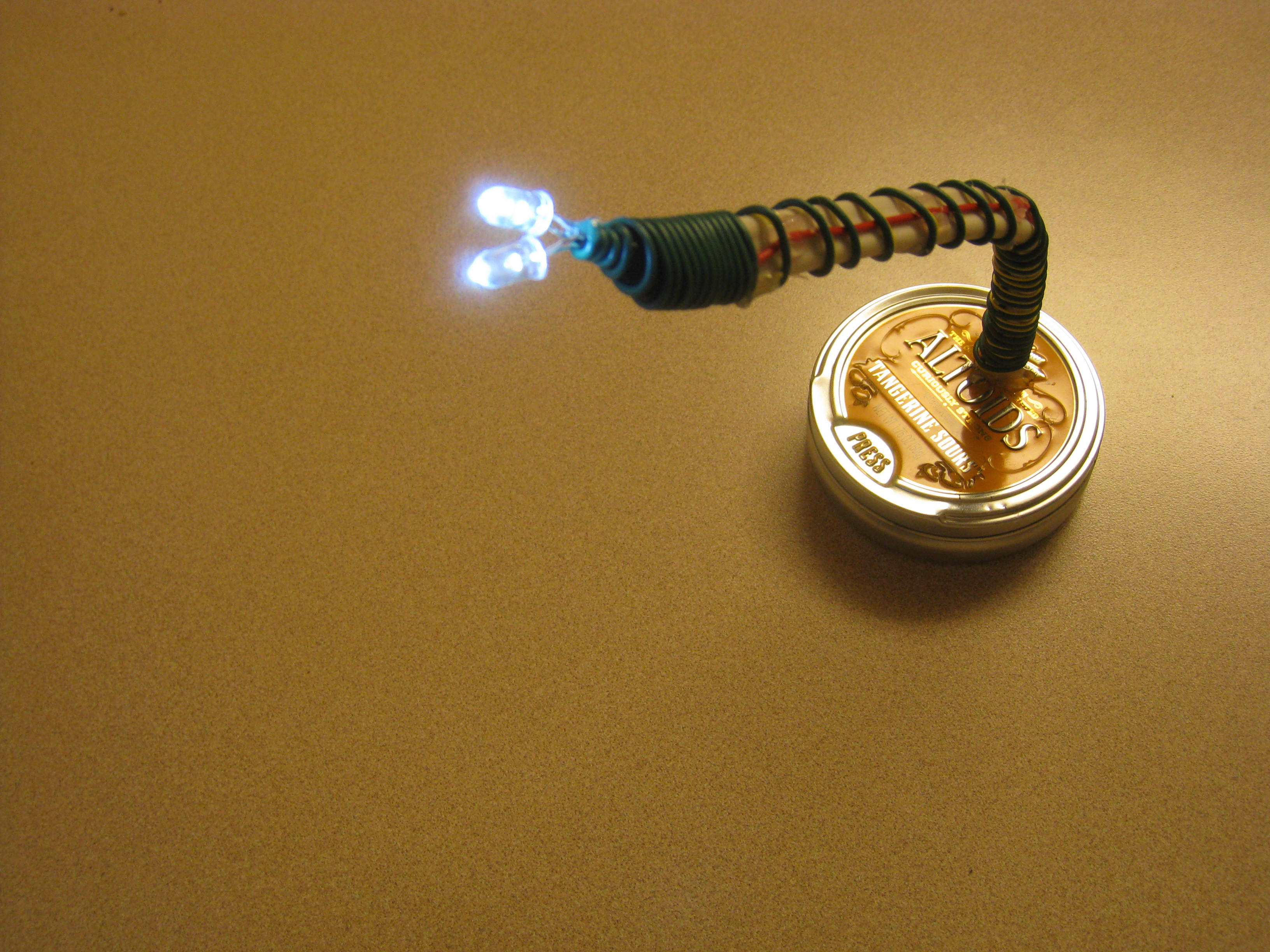 """""""Dead"""" Battery Lamp"""