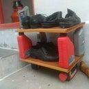 DIY Shoe Stand