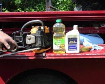 Natural Chainsaw Bar Oil