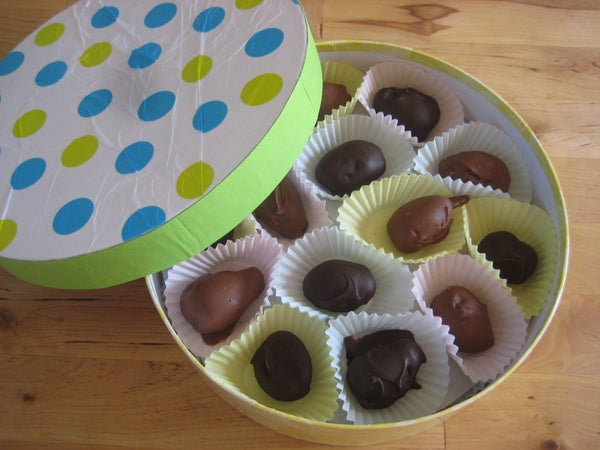 Pudding Easter Eggs