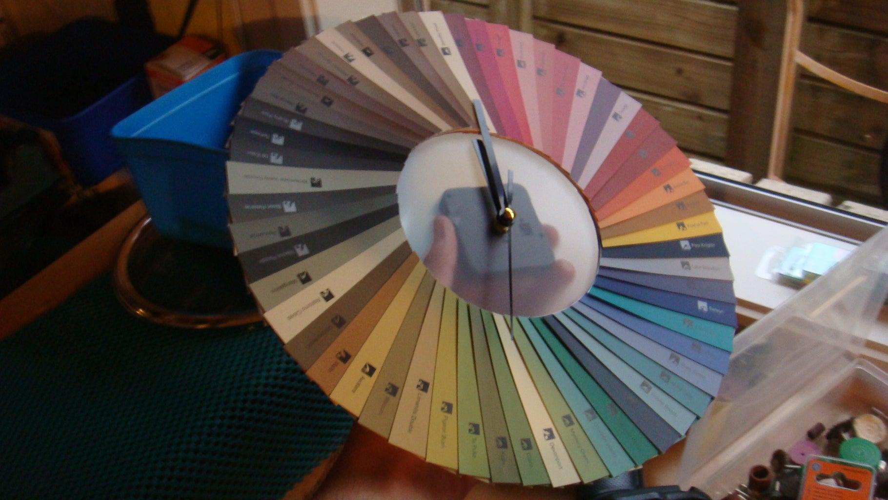 Colour Sample Clock