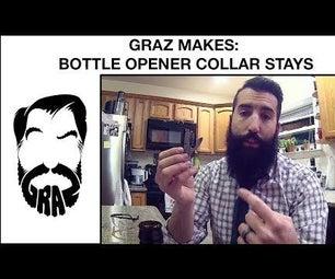 Bottle Opener Collar Stays!