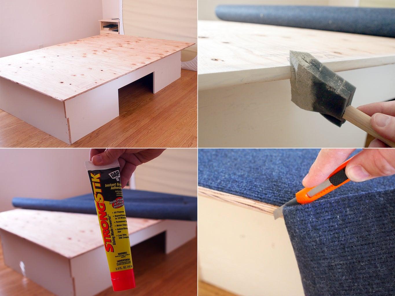 Assemble Frame + Glue Carpet