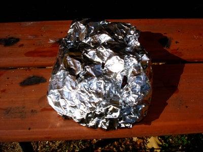 Wrap Wood Chips in Foil