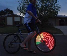 简单的POV轮灯