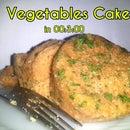 3 Minutes Vegetables Cake