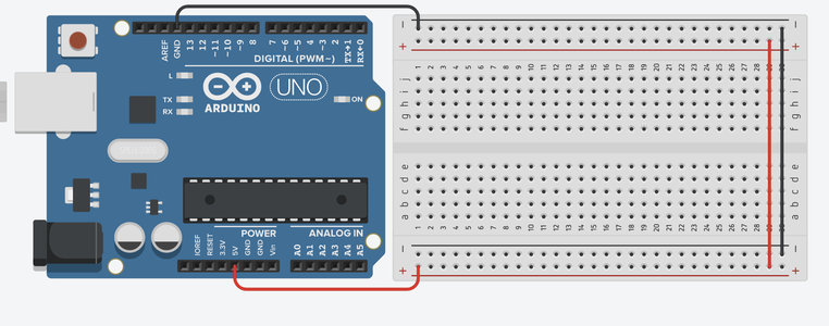 Step 1: Set Up Your Breadboard Layout Like the Following