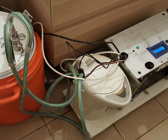 Dr. Fermentor V9 - Cooling and Heating Fermentation by an Arduino Controller