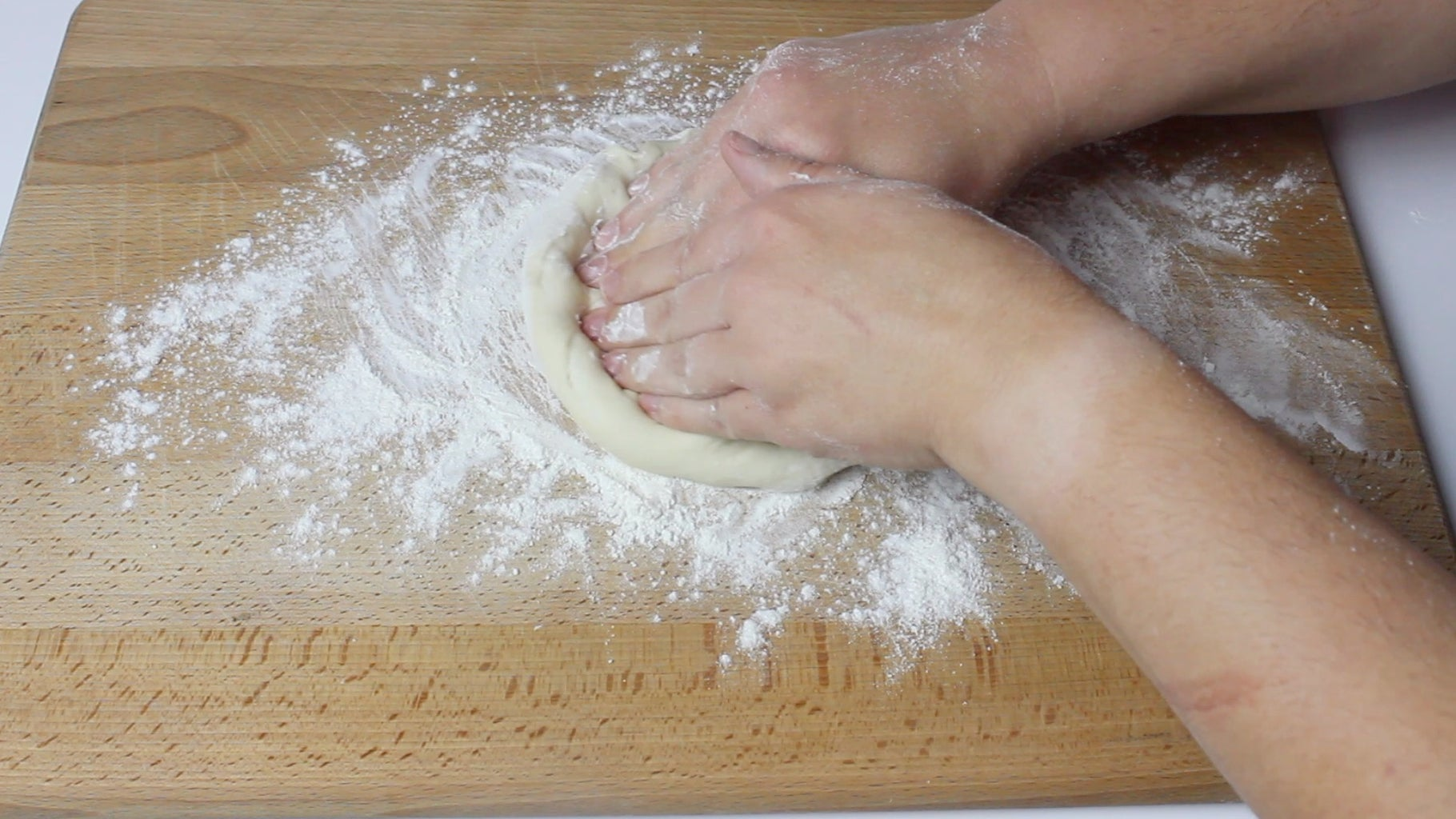 Forming the Pizza