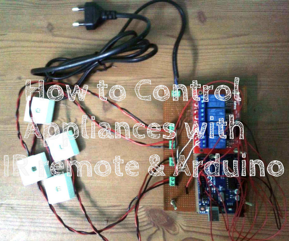 How to Control Appliances with IR remote