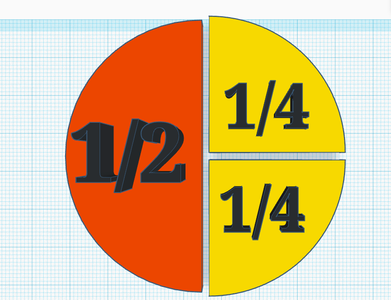 Tinkercad Circle Fractions
