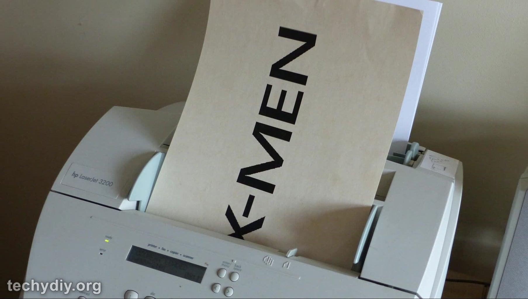 XMEN Stencil