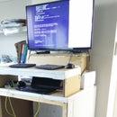 Sit / Stand Pallet Box Desk