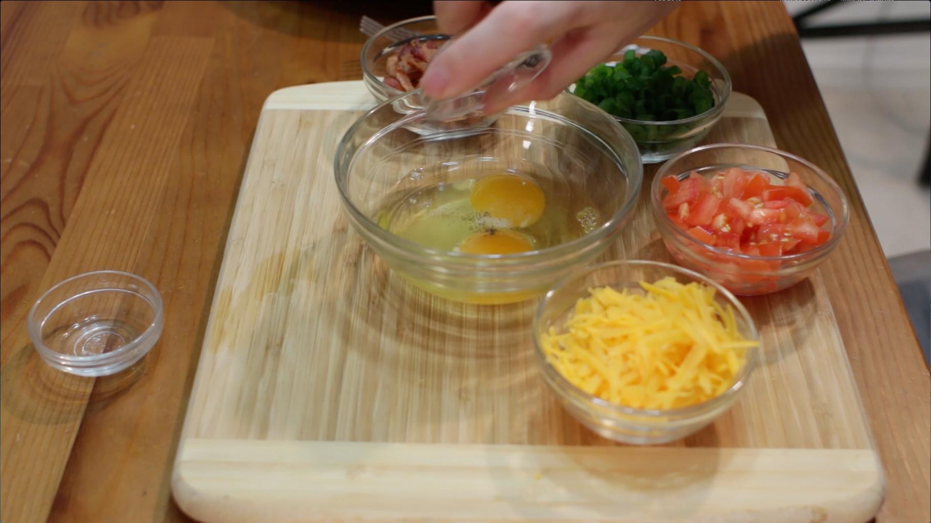 Prep the Eggs