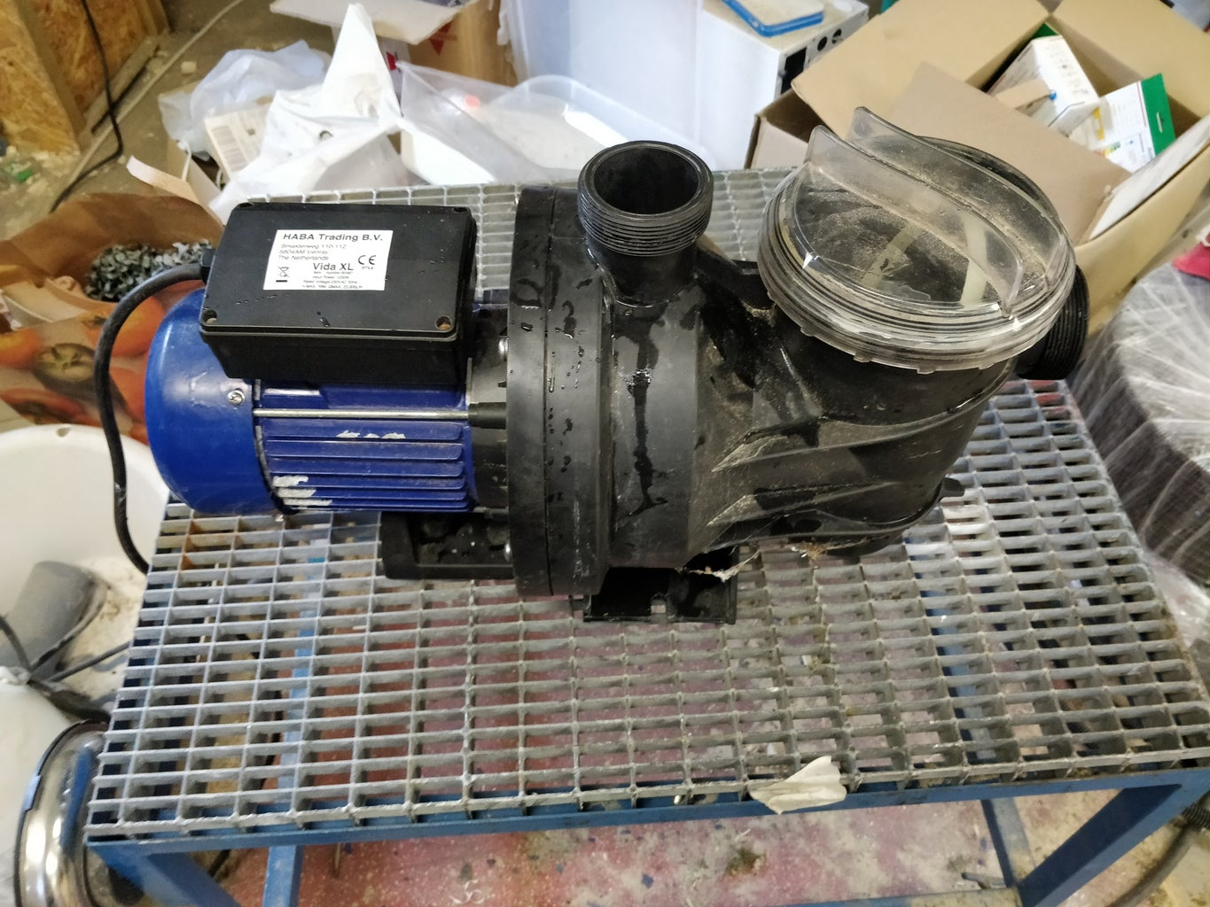Restoring Seized Pool Water Pump (with Pictures)