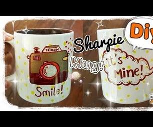 Diy Paint Mugs!!