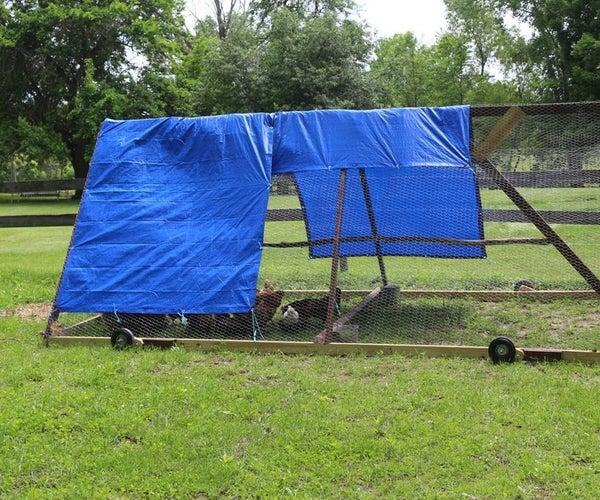 Roll Around Chicken Coop
