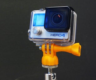Make a GoPro Tripod Adapter