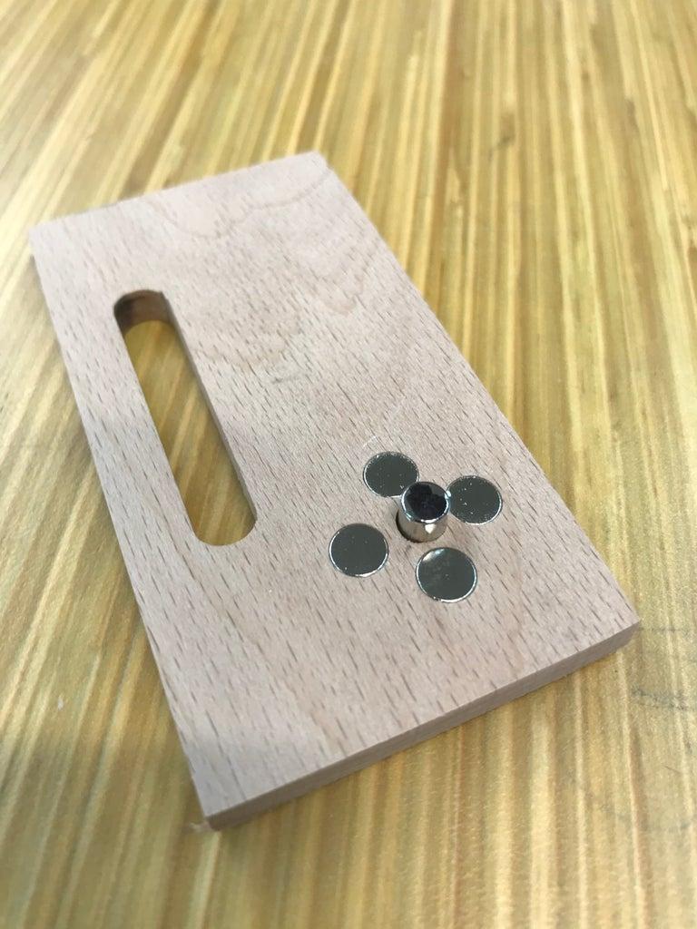 Magnetic Locking Pins for Slider