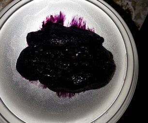 Dyed Polyvinylpyrrolidone Gel With Iodine and Rit Dyes for Art (3D Effects) Plus UV Glowing Gells.