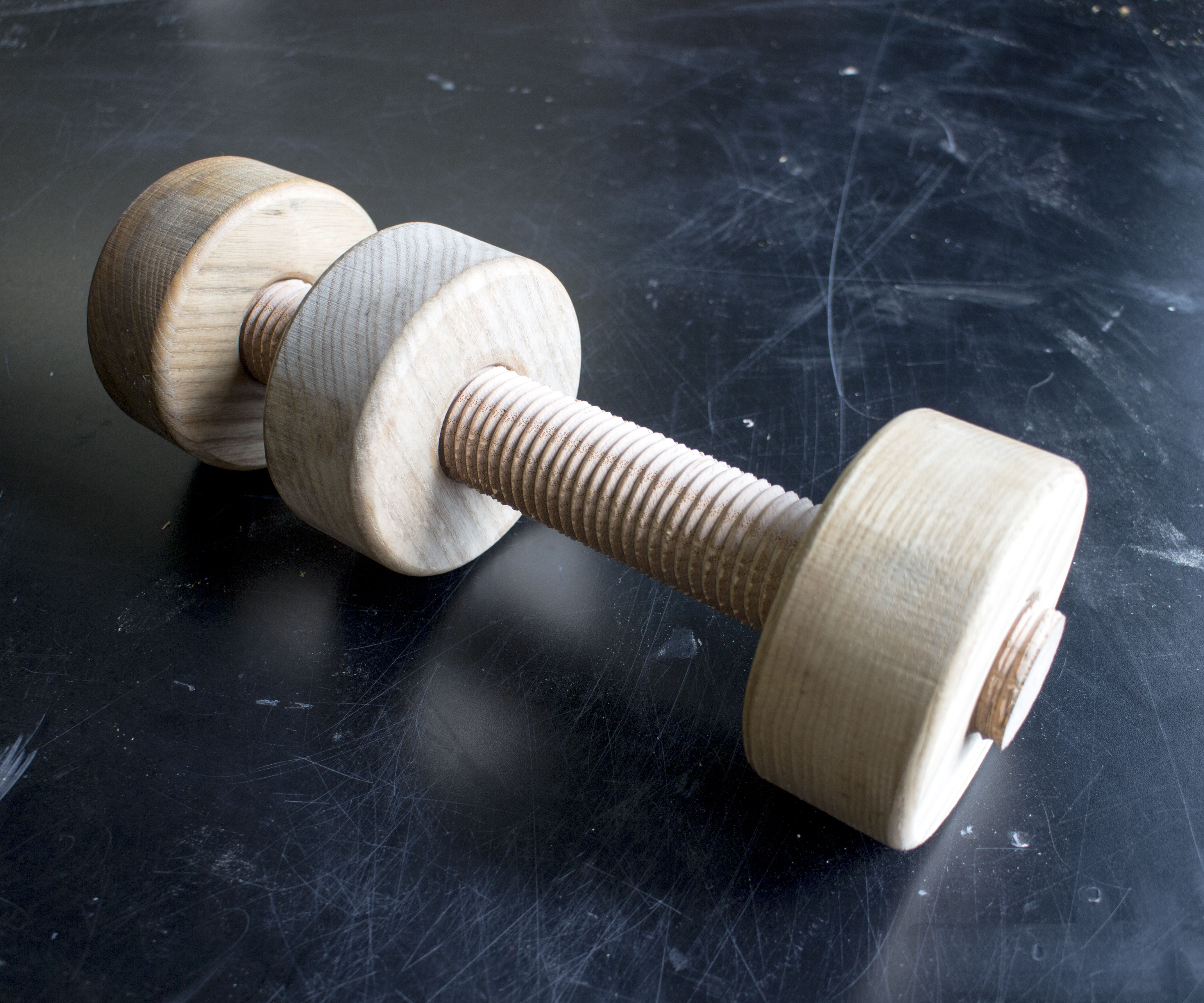 Technique: Wooden Nuts & Bolts