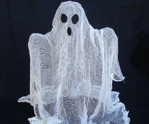 Floating Ghost!!! Low Cost Easy to Make!!!!